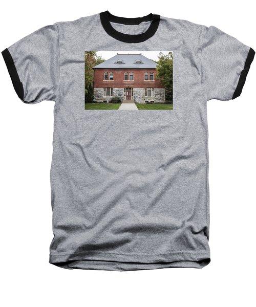 Old Botany Building Penn State  Baseball T-Shirt by John McGraw