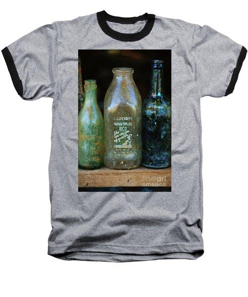 Old Bottles Hawaii Baseball T-Shirt