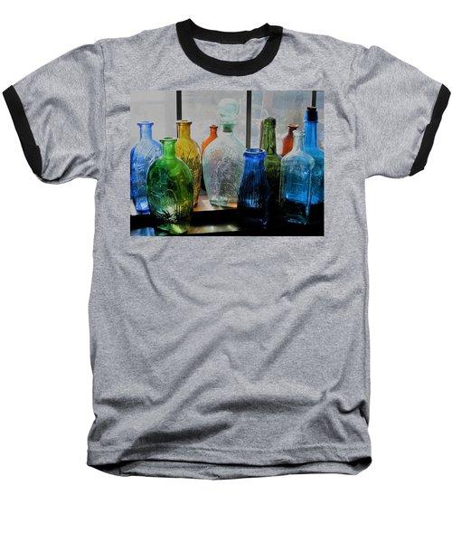 Old Bottles Baseball T-Shirt
