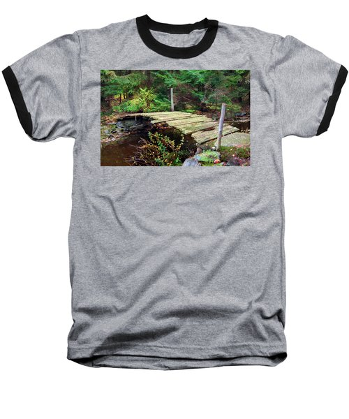 Baseball T-Shirt featuring the photograph Old Bridge by Francesa Miller