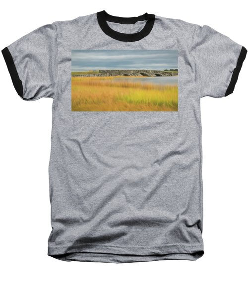 Old Bridge In Autumn Baseball T-Shirt