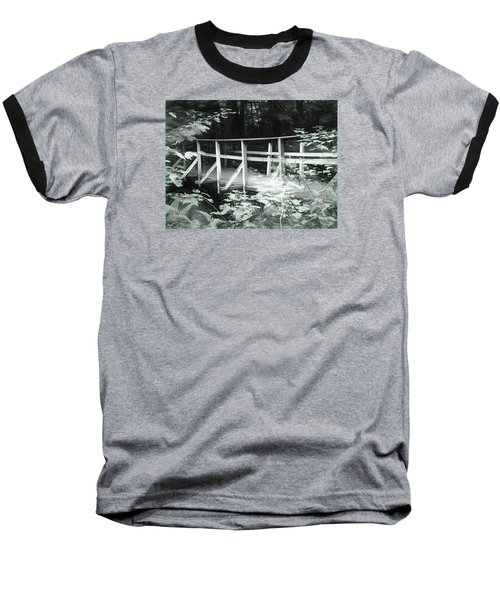 Old Bridge In The Woods Baseball T-Shirt