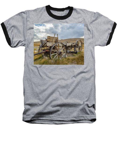 Old Buckboard Wagon Baseball T-Shirt