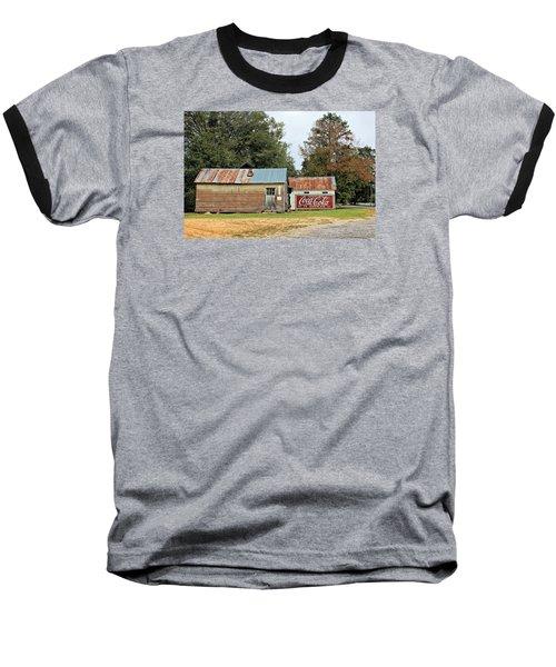 Old Buildings At Burnt Corn Baseball T-Shirt