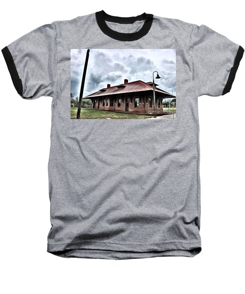 Old Burkeville Station Baseball T-Shirt