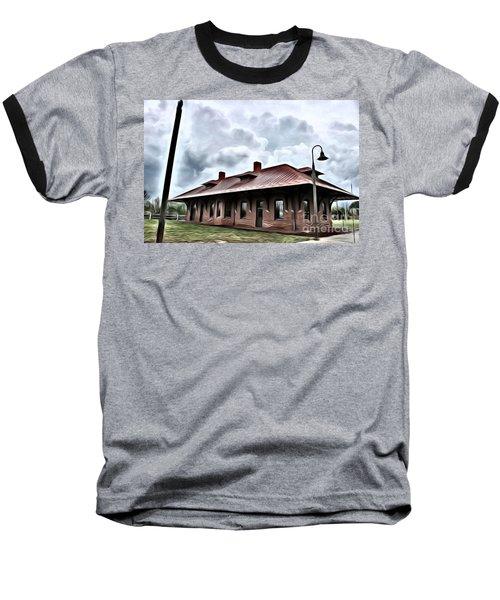 Old Burkeville Station Baseball T-Shirt