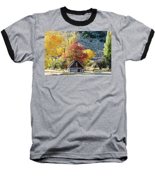 .  Butch Cassidy's Home Place  Baseball T-Shirt