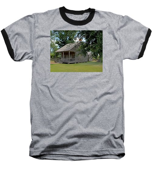 Old Cajun Home Baseball T-Shirt by Judy Vincent