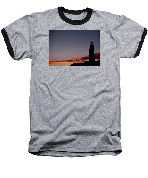 Old Cape Henry Sunrise Baseball T-Shirt
