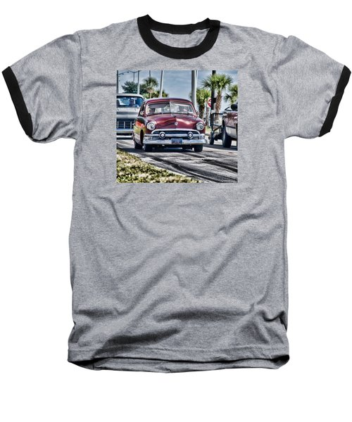 Old Car 1 Baseball T-Shirt