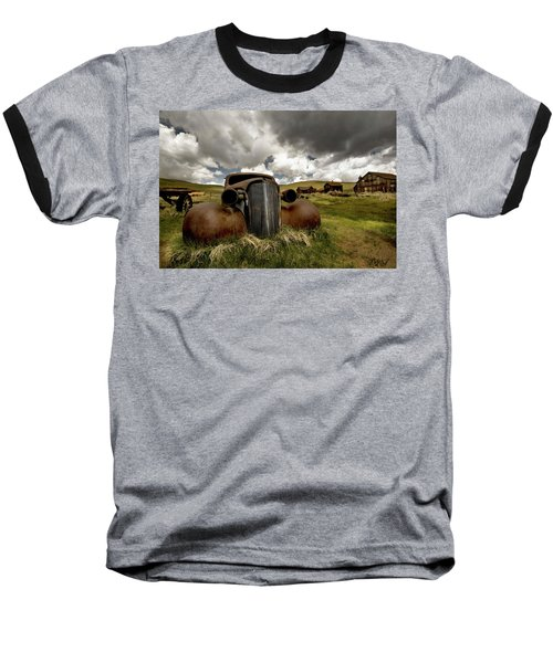 Old  Car Bodie State Park Baseball T-Shirt
