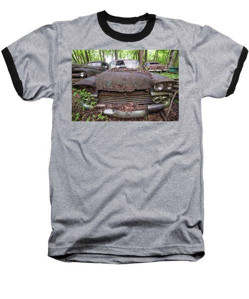 Old Car City In Color Baseball T-Shirt