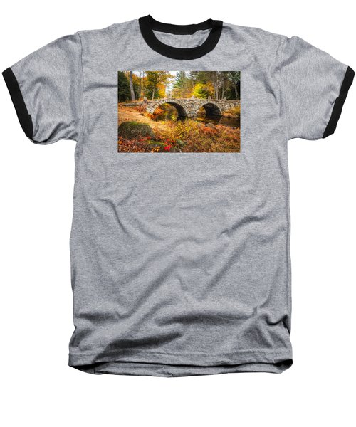 Old Carr Bridge Baseball T-Shirt