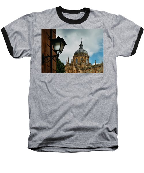 Old Cathedral, Salamanca, Spain  Baseball T-Shirt