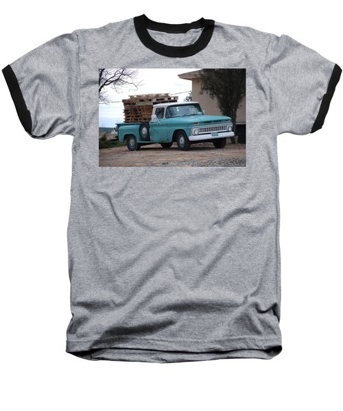 Baseball T-Shirt featuring the photograph Old Chevy by Rob Hans