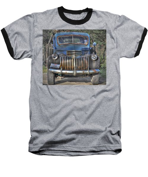 Baseball T-Shirt featuring the photograph Old Chevy Truck by Savannah Gibbs