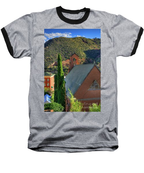 Old Church In Bisbee Baseball T-Shirt