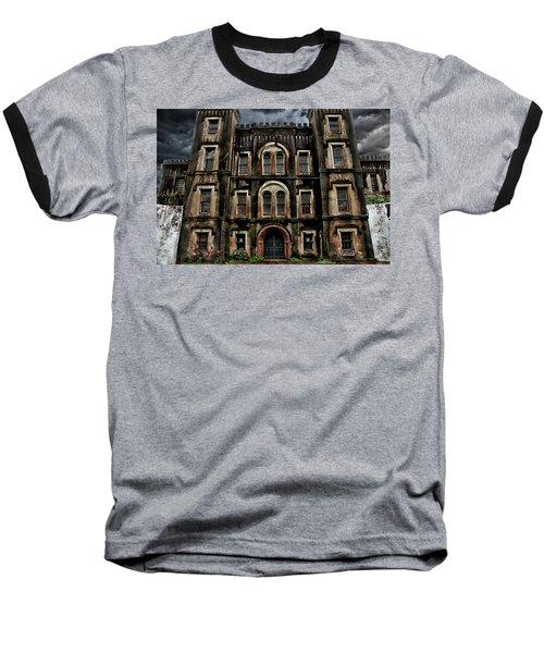 Old City Jail Baseball T-Shirt