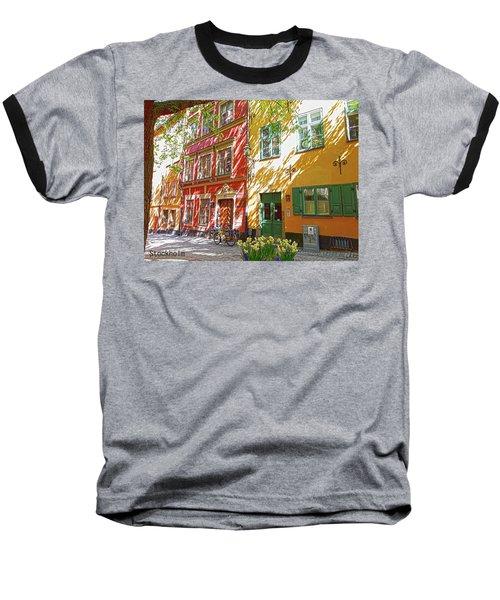 Old City Baseball T-Shirt by Thomas M Pikolin