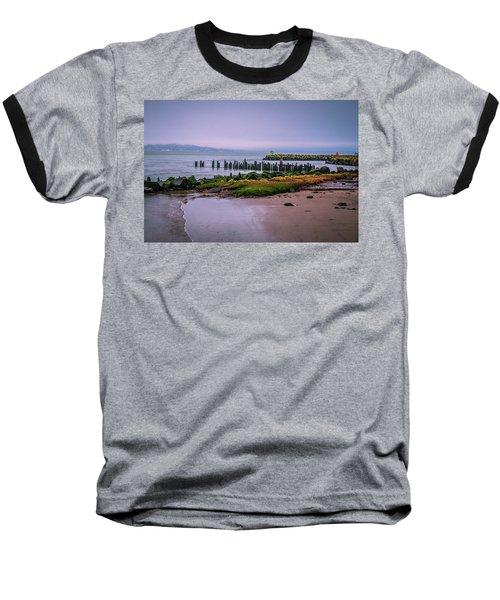 Old Columbia River Docks Baseball T-Shirt
