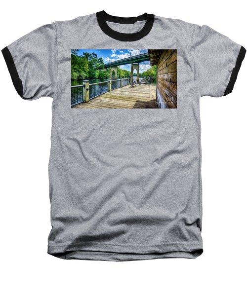 Old Conway Bridge Baseball T-Shirt