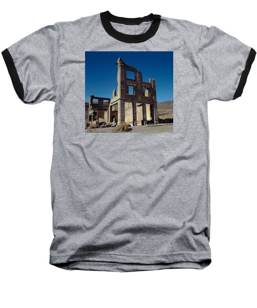 Old Cook Bank Building Baseball T-Shirt