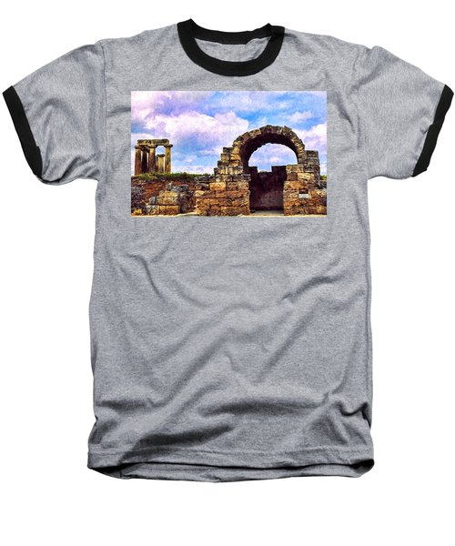 Baseball T-Shirt featuring the photograph Old Corinth Shop by Trey Foerster