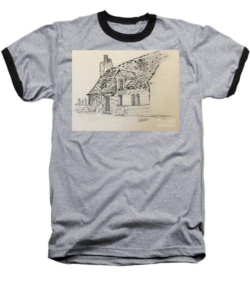 Old Cottage Baseball T-Shirt