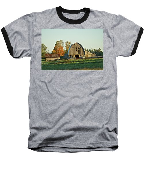 Old Country Barn_9302 Baseball T-Shirt by Michael Peychich