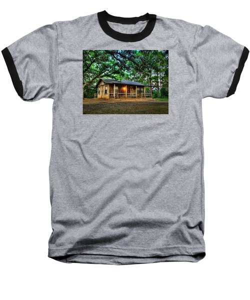 Old Country Cabin Baseball T-Shirt