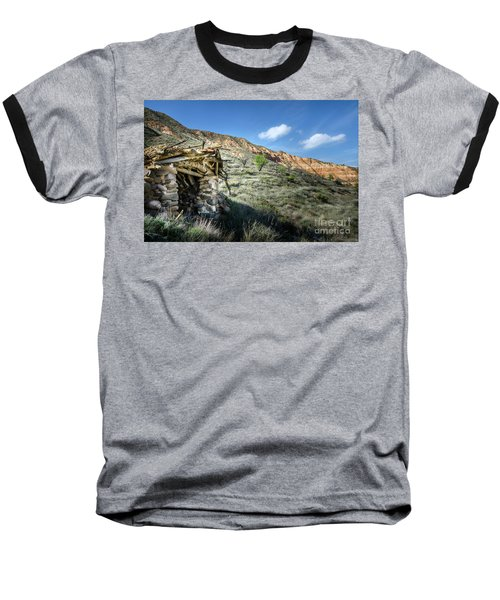 Baseball T-Shirt featuring the photograph Old Country Hovel by RicardMN Photography