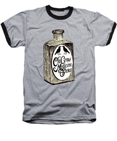 Old Crow Medicine Show Tonic Baseball T-Shirt by Little Bunny Sunshine
