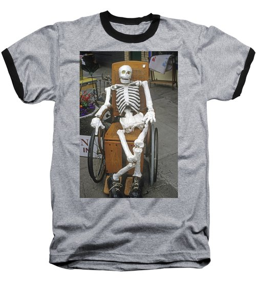 Baseball T-Shirt featuring the photograph Old Deadheads Never Die by Frank DiMarco