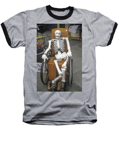 Old Deadheads Never Die Baseball T-Shirt
