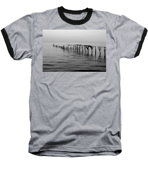 Old Dock  Baseball T-Shirt