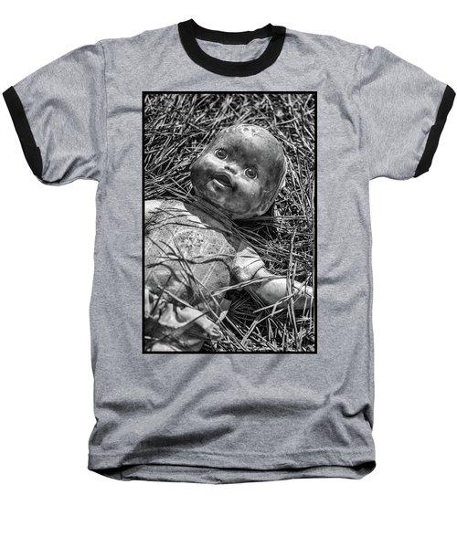Old Dolls In Grass Baseball T-Shirt