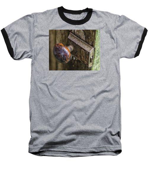 Old Door Knob Baseball T-Shirt