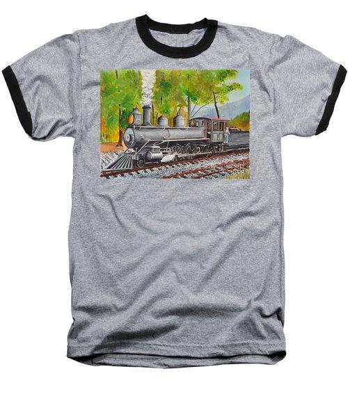 Old Engine 8 Baseball T-Shirt