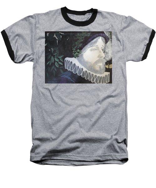 Old Englishman Baseball T-Shirt by Bernard Goodman