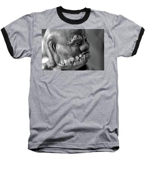 Old Face, Statue Baseball T-Shirt