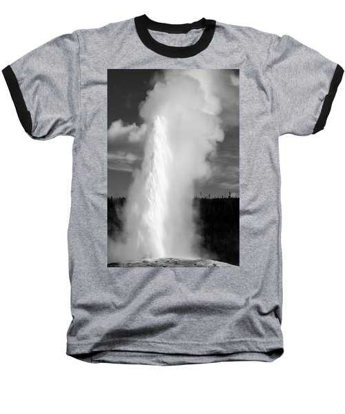 Baseball T-Shirt featuring the photograph Old Faithful by Colleen Coccia