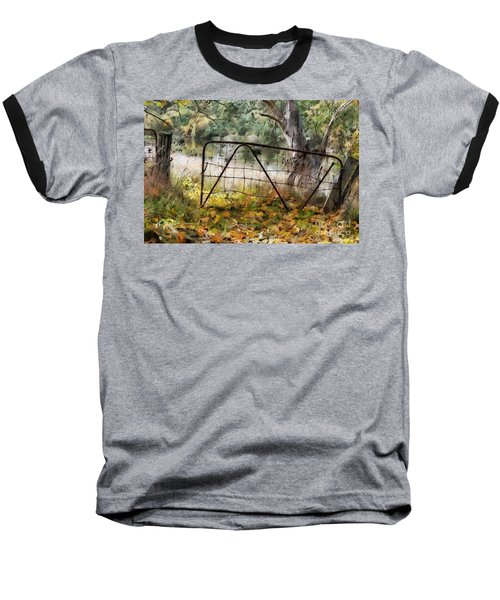 Old Farm Gate Baseball T-Shirt