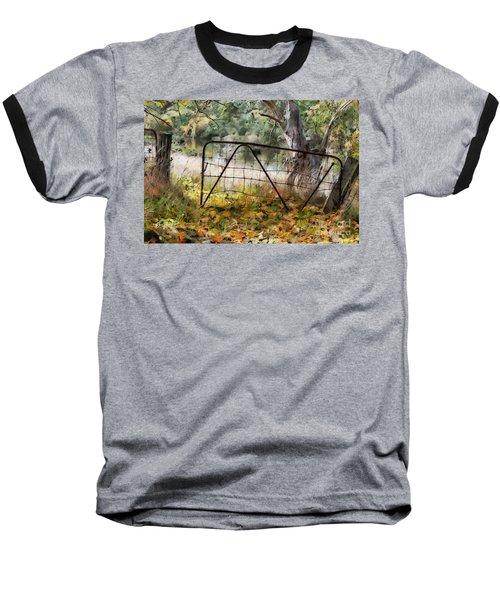 Old Farm Gate Baseball T-Shirt