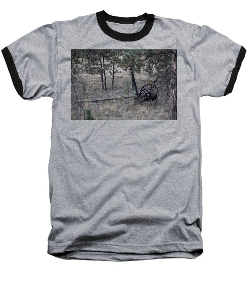 Old Farm Implement Lake George Co Baseball T-Shirt