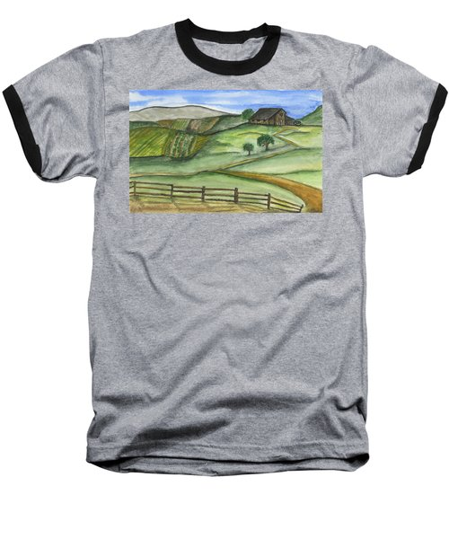 Old Farm Baseball T-Shirt
