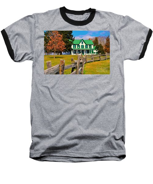Old Farmhouse Baseball T-Shirt
