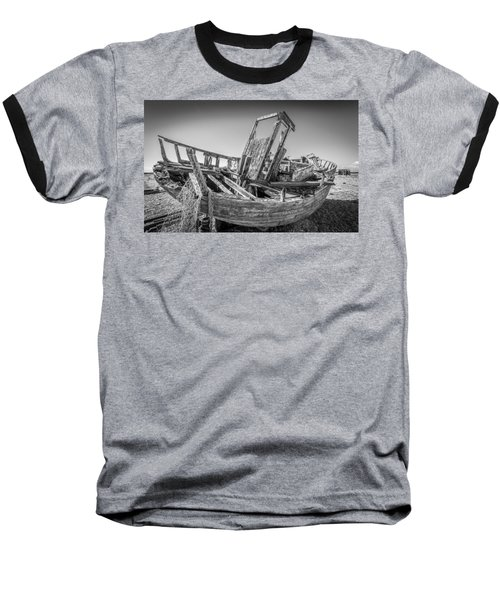 Old Fishing Boat. Baseball T-Shirt
