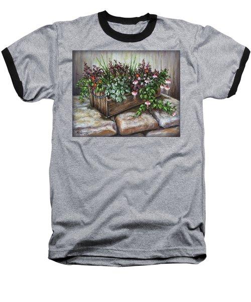 Old Flower Box Baseball T-Shirt