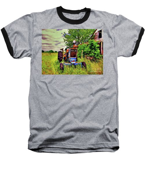 Old Ford Tractor Baseball T-Shirt