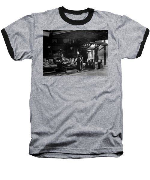 Old French Market Baseball T-Shirt